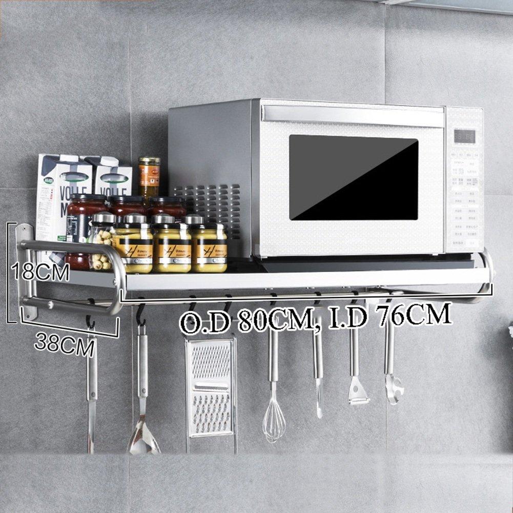 Amazon.com: Estantes de cocina de acero inoxidable para ...