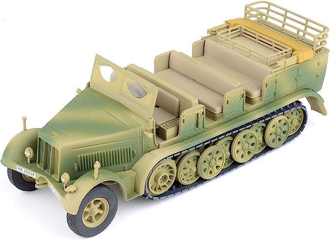 SHQ BV062 1//76 Diecast WWII British LRDG Ford WO V8 Medical Truck