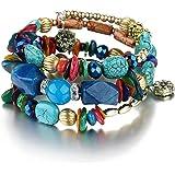 Shining Diva Fashion Jewelry Blue Stone Bracelet for Women & Girls(rrsd9236b)