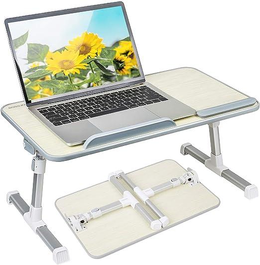 Like-very - Mesa de Escritorio Plegable portátil para Ordenador ...