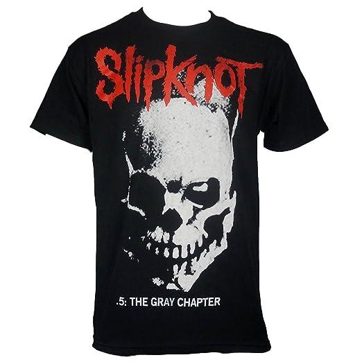 da020282 Amazon.com: Bravado Slipknot Mens Skull and Tribal Gray Chapter T ...