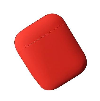 DamonLight Funda de Silicona para Auriculares Airpods Funda de Silicona para Auriculares inalámbricos Apple