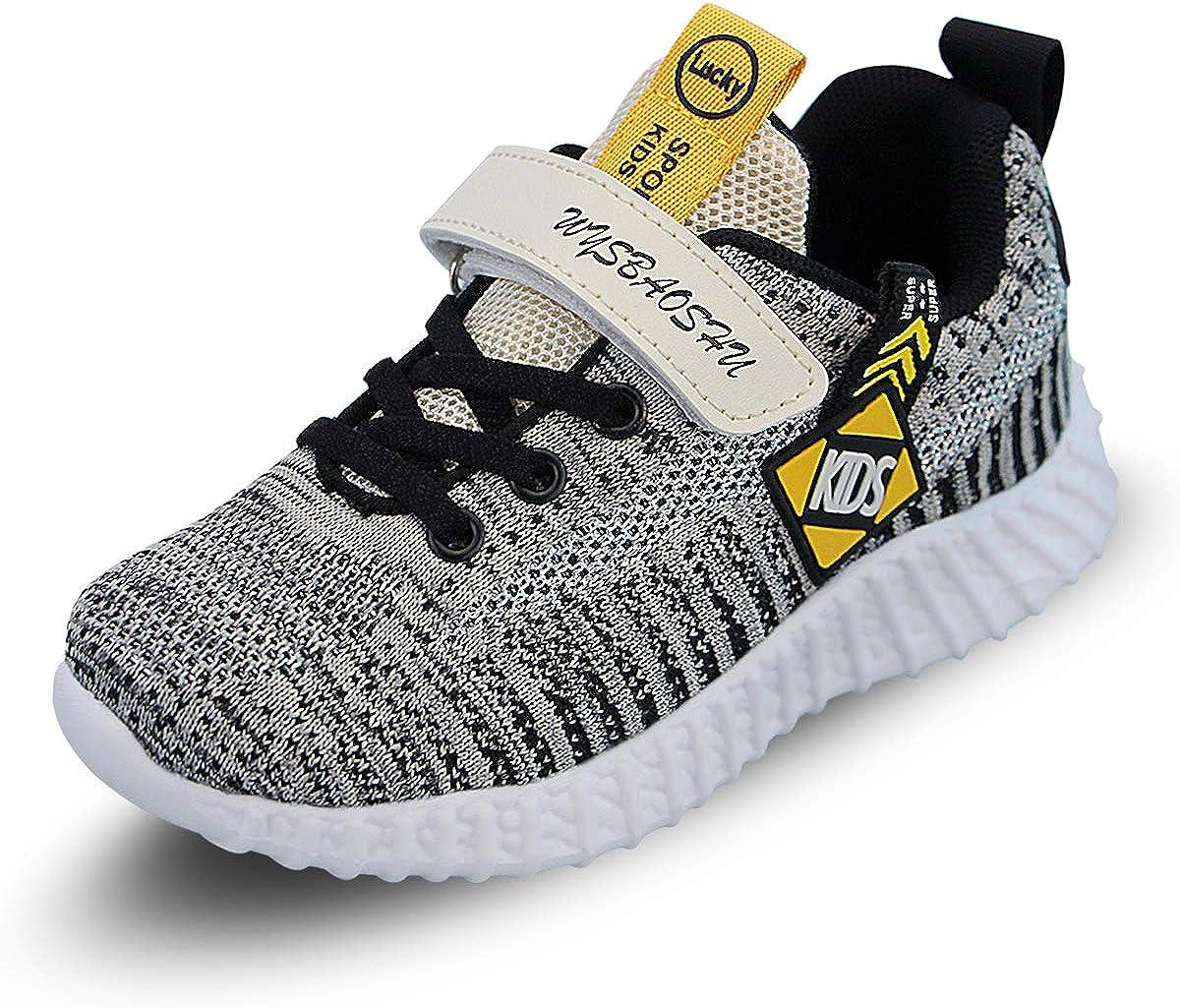 Baskets Mode Enfant Garcon Chaussure de Course Fille Chaussures de Sport Légère Running Sneakers Respirant Competition Entrainement