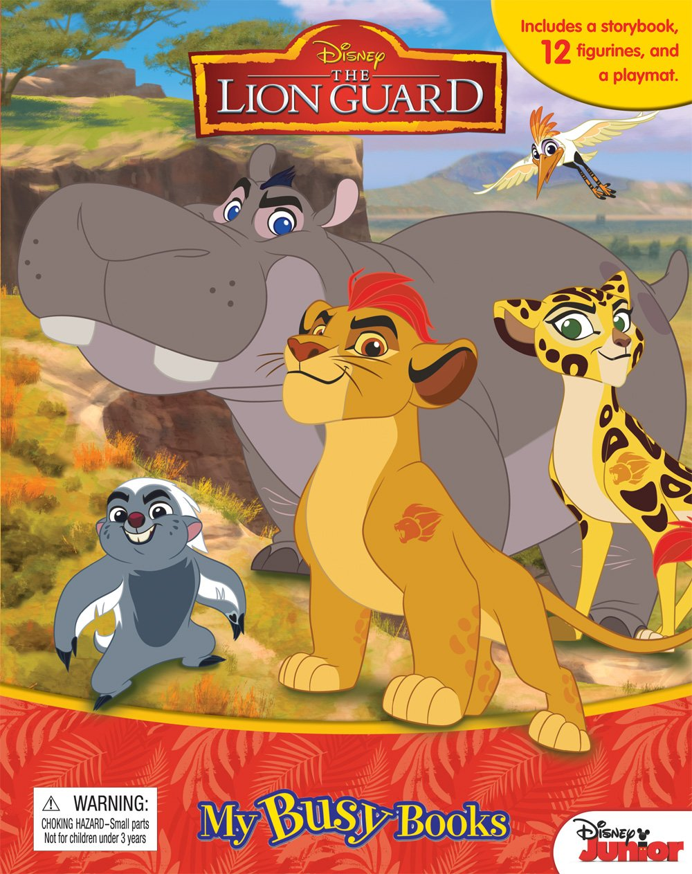 Download Disney The Lion Guard My Busy Book pdf