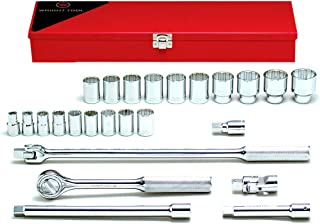 product image for Wright Tool #424 25-Piece 12-Point Standard Socket Set