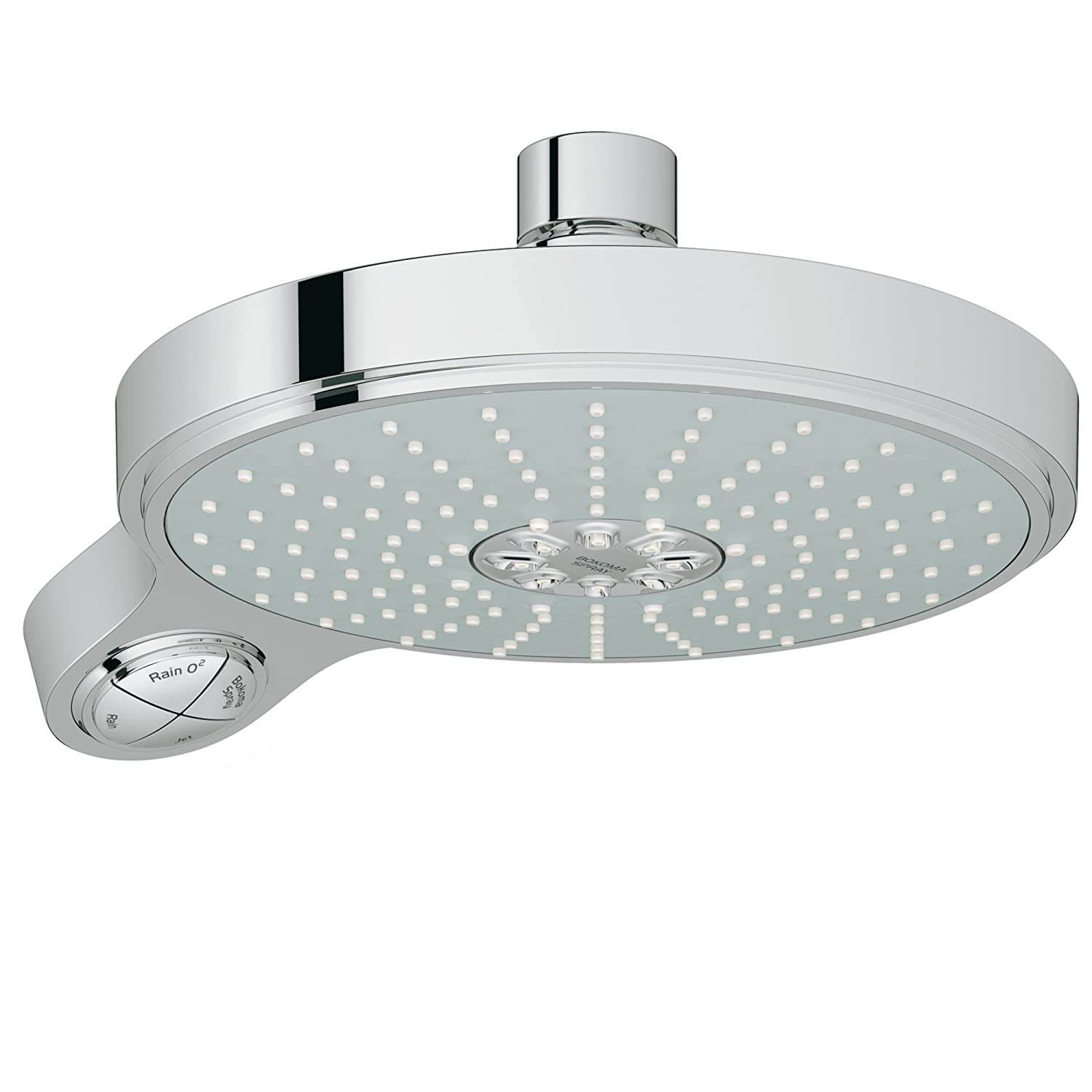 Power and Soul Cosmopolitan 190 Shower Head - 4 Sprays - Fixed ...