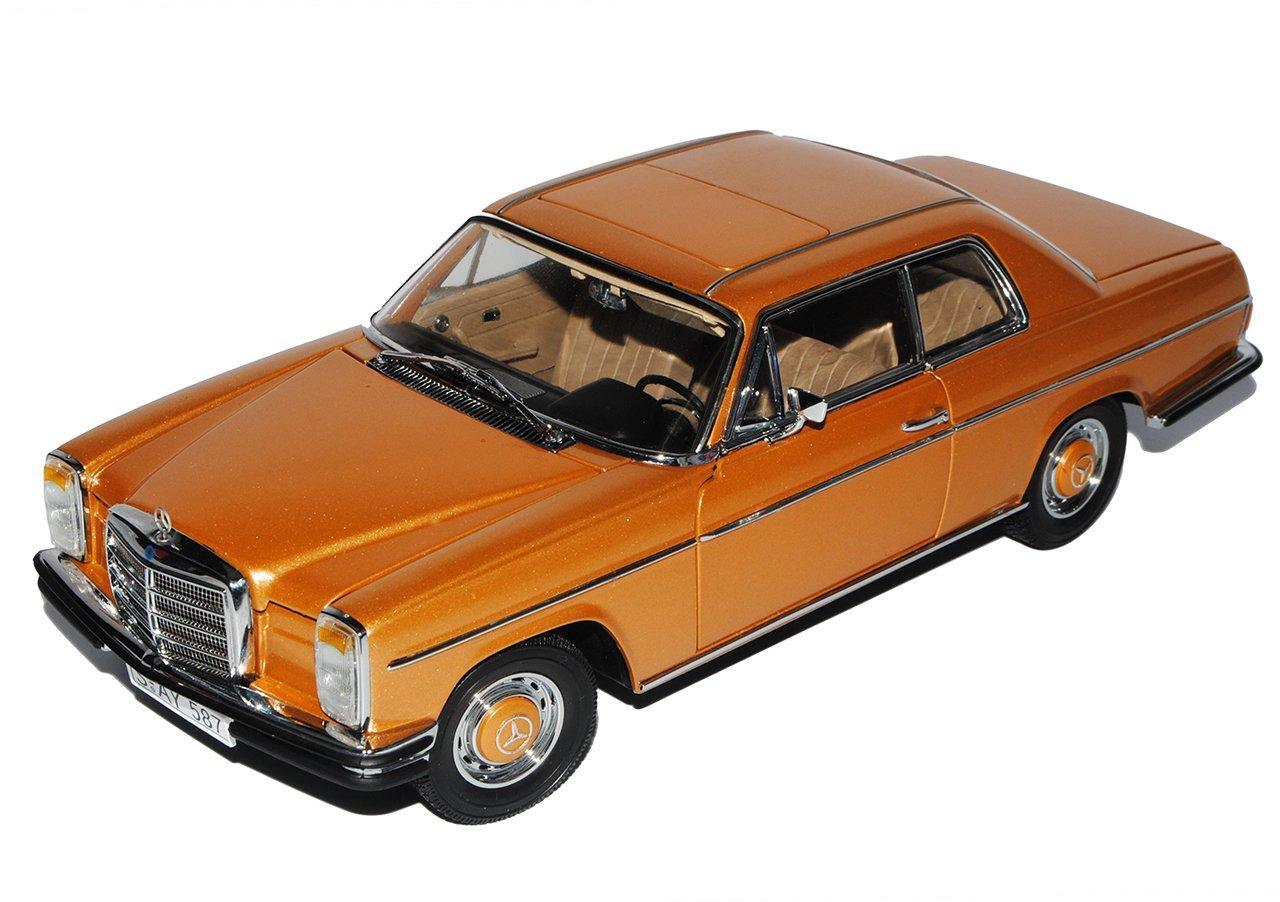 Sun Star Mercedes-Benz 220 /8 Strich-Acht Coupe Gold Beige W114 1967-1976 1/18 Modell Auto