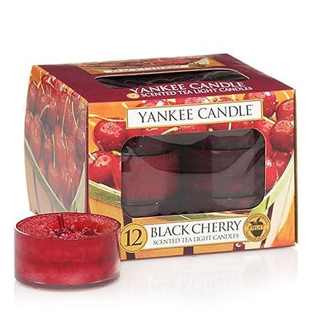 Hielo de ar/ándano Yankee Candle velas Tea Light paquete de 12