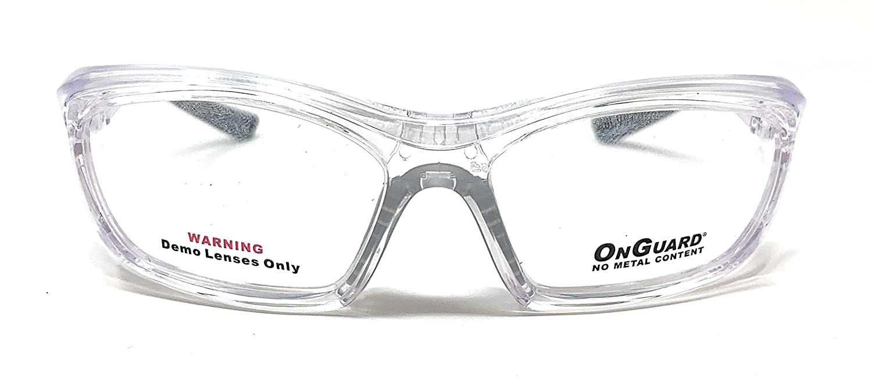OnGuard Safety Eyewear OG-220S Black Clear Glasses Goggles 55-15-130 w// Dust Dam
