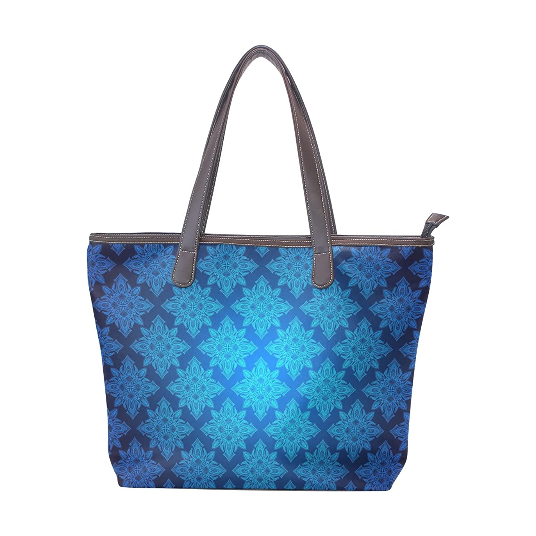 Women Large Tote PU Leather Shoulder Bags Indian Ladies Handbag
