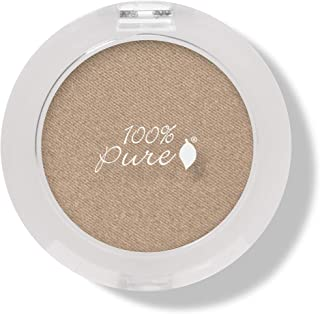 product image for 100% PURE Pressed Powder Eye Shadow (Fruit Pigmented), Gilded, Shimmer Eyeshadow, Buildable Pigment, Easy to Apply, Natural Makeup (Warm Glittery True Gold) - 0.07 oz