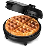 NETTA - American Waffle Maker Iron Machine - |700W | Non-Stick Coating | Deep Cooking Plates | Adjustable Temperature Control | Stainless Steel Mould