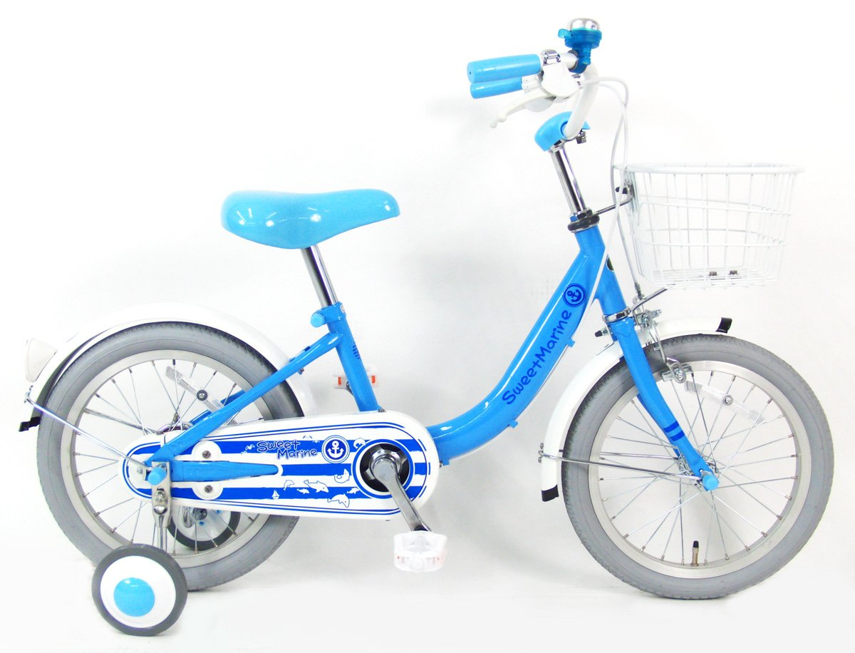 C.Dream(シードリーム) マリン M81 18インチ 幼児自転車 ブルー 100%組立済み発送   B078YNFMJ5