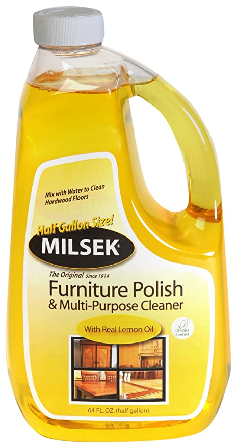 Amazon Com Milsek Furniture Polish And Cleaner With Lemon Oil 64