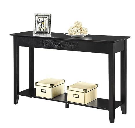 Amazon.com: Mesa de consola estilo tradicional americano con ...