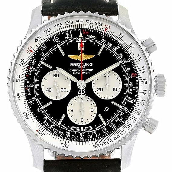 Breitling Navitimer AB0127 - Reloj automático para hombre (certificado de presencia)