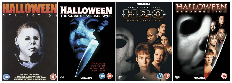 Halloween Dvd Box Set.The Complete Halloween 1 8 Dvd Collection Halloween Halloween 2