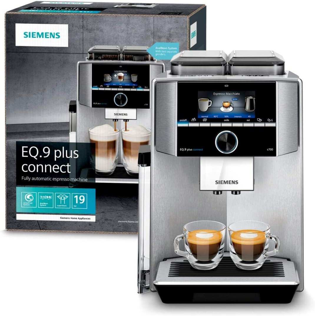 Siemens EQ.9 plus connect s700 Kaffeevollautomat