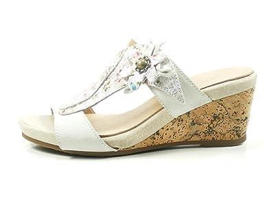 Laura Vita SL140356-38 Benoit 38 Schuhe Damen Sandalen Keil Pantoletten