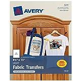 Avery 3275 Iron-On Light Fabric Transfers, 8-1/2 x