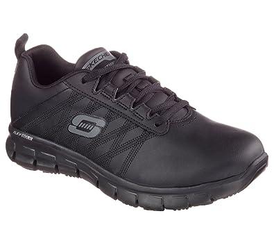 shopping order shopping Skechers Work Women's Sure Track - Erath Black 8 D US