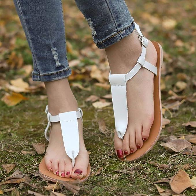 Amazon.com: Mysky Fashion - Sandalias de playa para mujer ...
