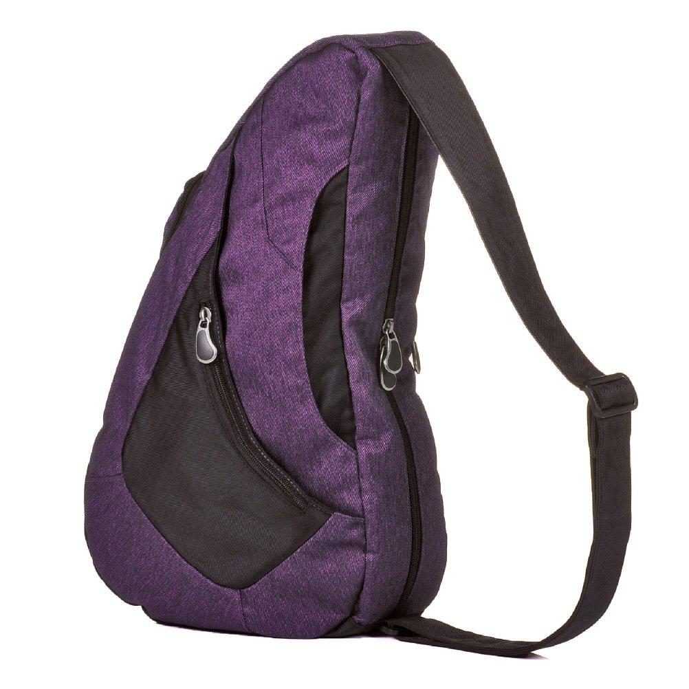 HEALTHY BACK BAG(ヘルシーバックバッグ)デニムツイル Mサイズ  パープル B00N9XS0DY