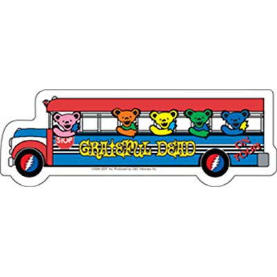 C&D Visionary Licenses Products Grateful Dead Bus Sticker: Toys & Games