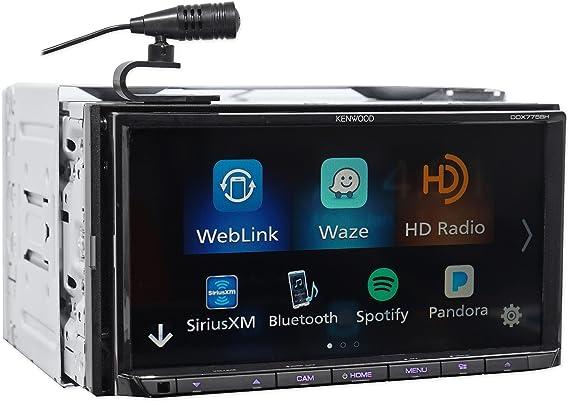 Amazon.com: Kenwood DDX775BH In-Dash 2-DIN 6.95