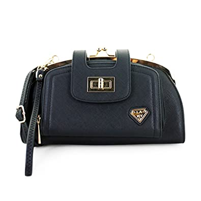 feab81beee LANY quot Adele quot  Half Moon Front-Twist   Kiss Lock Clutch Crossbody ...