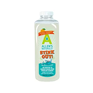 Allens Naturally Stink Out 1 quart/ 32 fl oz./ 946 ml (use with Laundry Detergent)