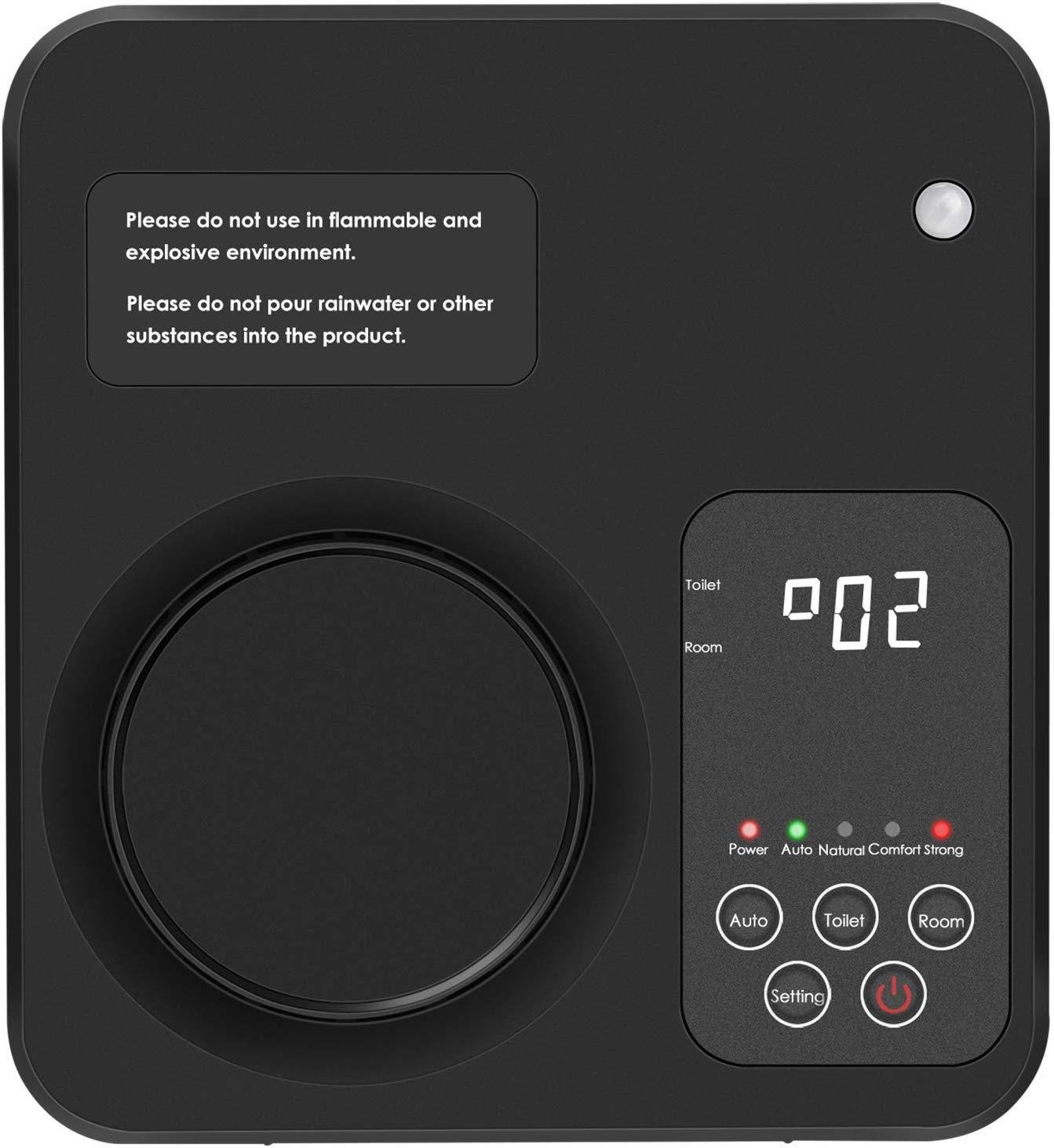 WANXIAN Purificador De Aire Inicio Generador De Ozono Ionizador De Aire Desodorizador De Eliminaci/ón De Olores No Es Necesario Reemplazar El filtro.