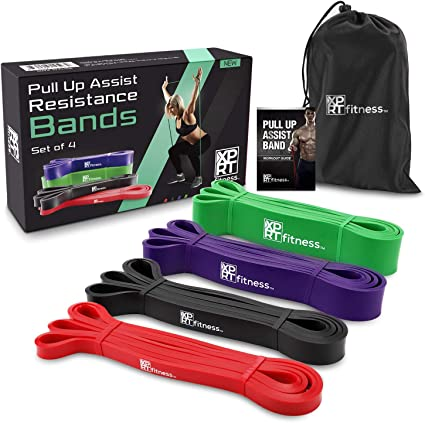 Amazon.com : XPRT Fitness Pull Up Resistance Bands Mobility ...