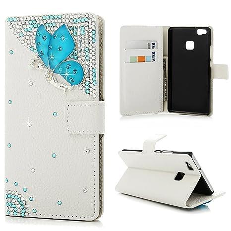 Mavis S Diary 3d Motivo Case Per Huawei P9 Lite Bianco Sfondo
