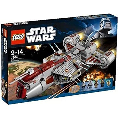 Lego Star Wars Republic Frigate 7964 - 2011 Release: Toys & Games