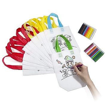 Vordas 12 Piezas Bolsas para Colorear Niños Bolsas para ...