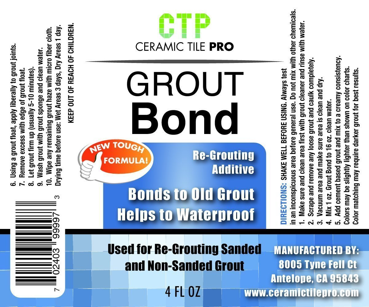 Amazon Ceramic Tile Pro Grout Bond Patch And Repair Additive