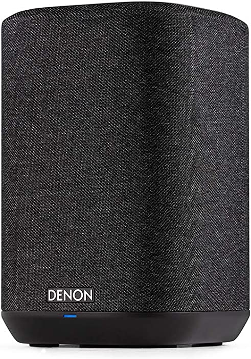 Denon Home 150 Wireless Speaker (2020 Model) | HEOS Built-in, AirPlay 2, and Bluetooth | Alexa Compatible | Compact Design | Black