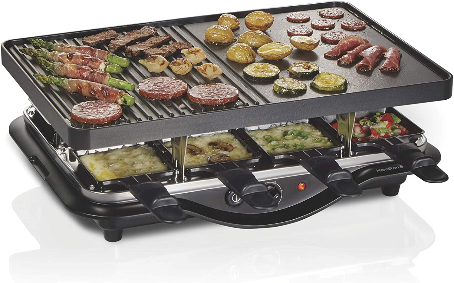 Hamilton Beach 31612-MX 8-Serving Raclette Electric Indoor Grill $38.91 Coupon