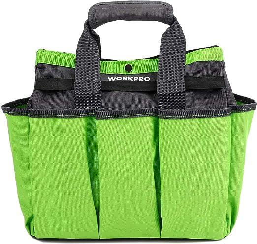 Amazon.com: WORKPRO Bolsa de herramientas de jardín, bolsa ...