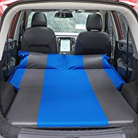 Car Air Mattress for Trunk SUV Camping Trave Automaticl Inflatable Car Bed with 2 Pillows Self Inflating Sleeping Pad…