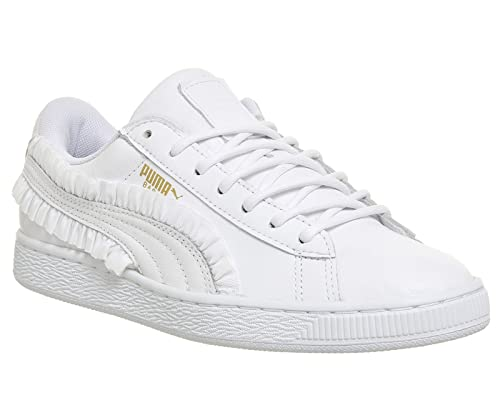 0fea7a49e242 Puma Basket Classic White Frill - 6 UK  Amazon.co.uk  Shoes   Bags
