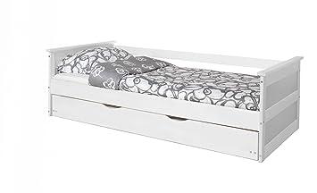 Ticaa Sofabett Mit Auszug Theodor Kiefer Weiß Amazonde Küche