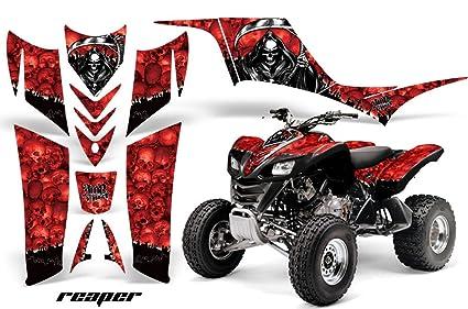 Amazon.com: AMR Racing Graphics Kit for ATV Kawasaki KFX 700 2004 ...