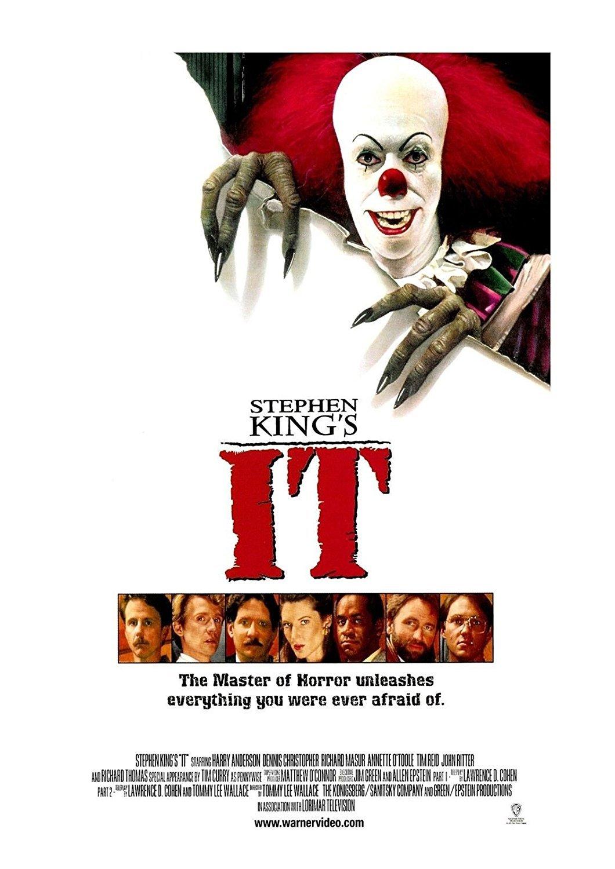 IT Movie Poster Steven King 24x36inch