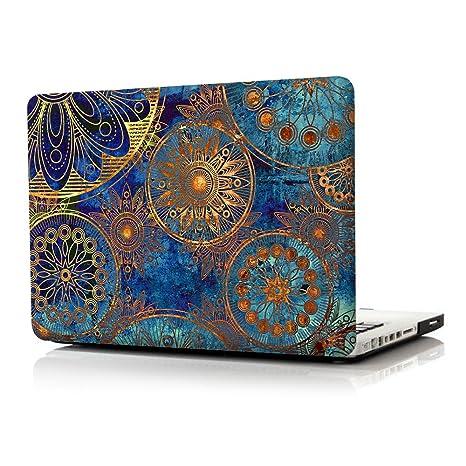 iCasso Macbook Old Retina, 13 pulgadas, maletín de impresión, cubierta de plástico, cubierta dura de plástico para Macbook Pro, retina de 13 pulgadas, ...