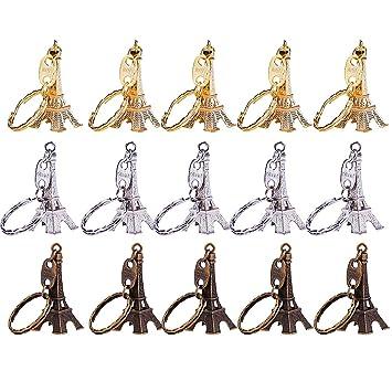 Amazon.com: Outus 15 Pieces Retro Adornment Eiffel Tower ...