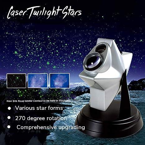 Amazon.com: YinVinA Proyector de Crepúsculo de Estrellas ...