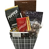 Stylish Gift Basket with Lindt, Chocolate & More - Perfect for Mother's Day