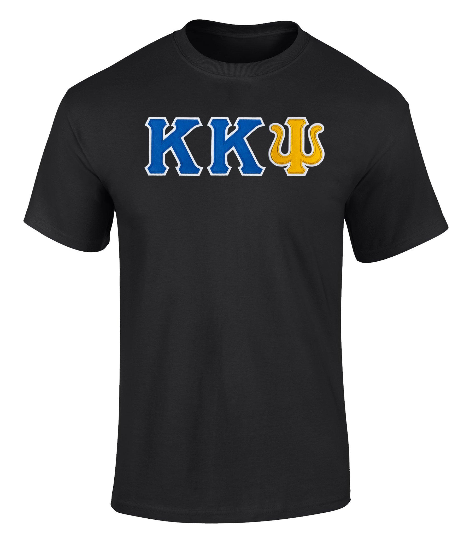 Kappa Kappa Psi Twill Letter Tee 3575 Shirts